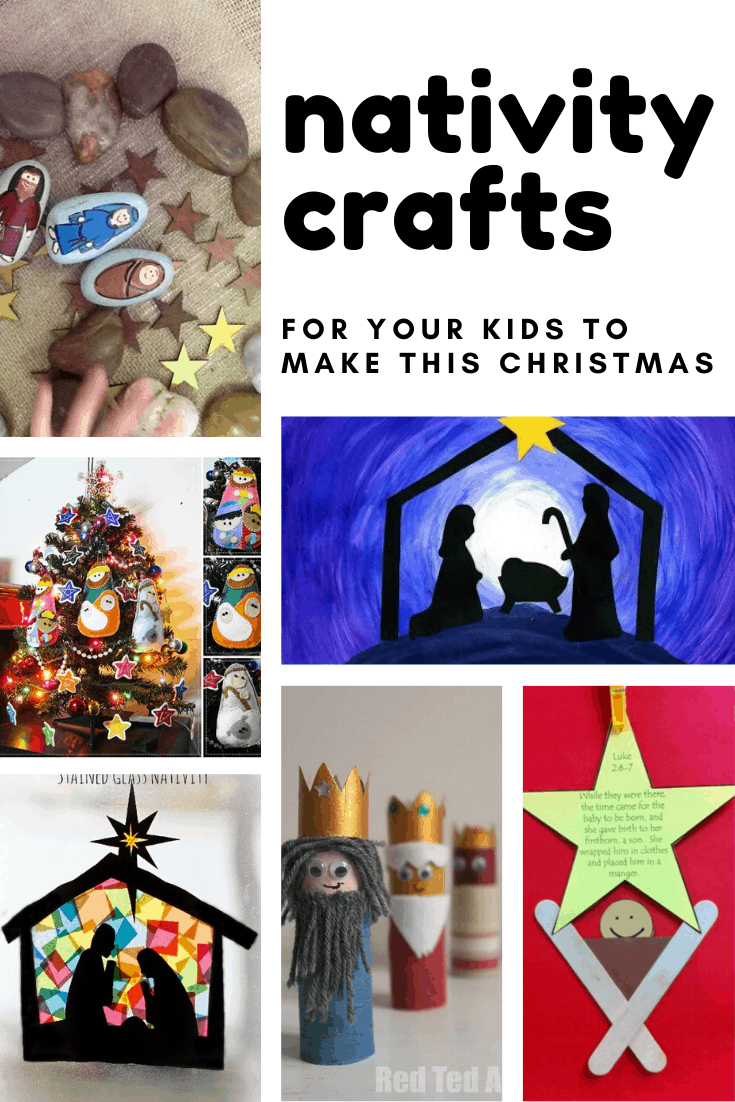 From stained glass windows to DIY nativity sets, these Nativity craft ideas are perfect for preschoolers!