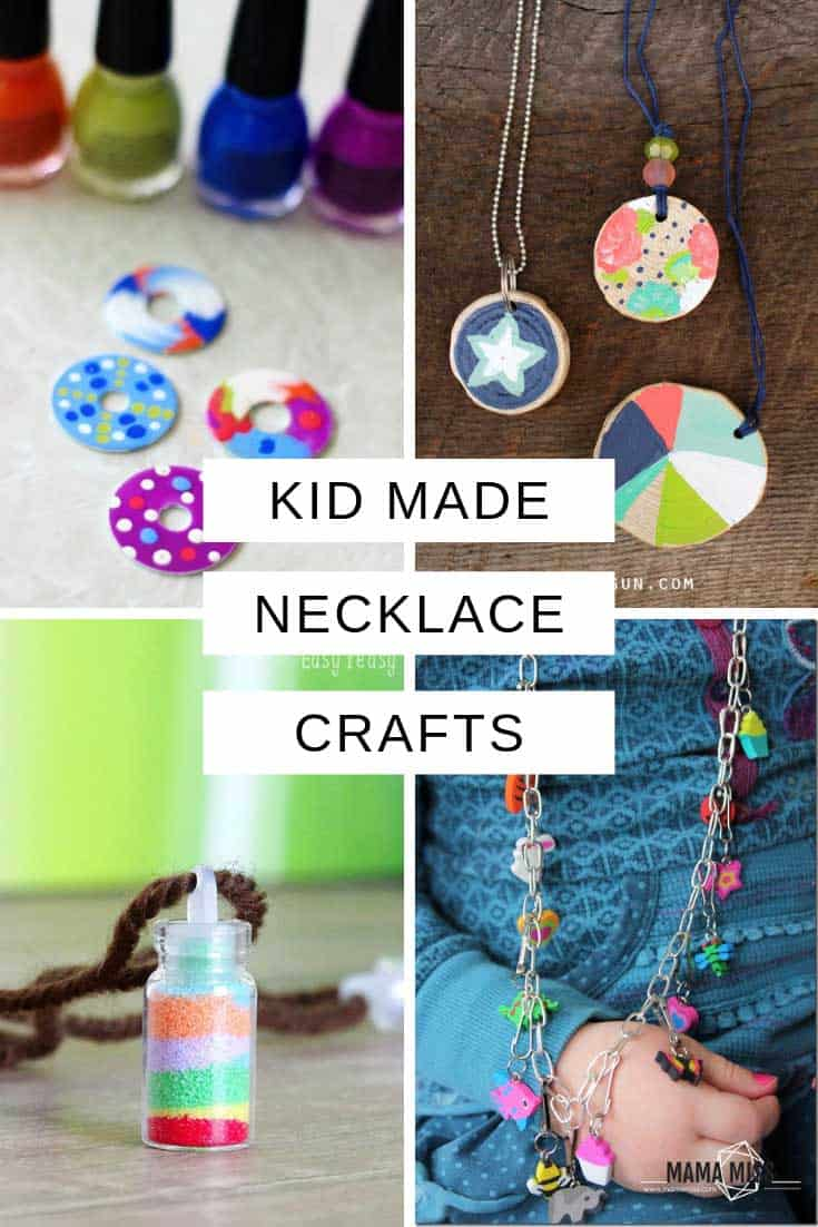 These necklace crafts for kids are perfect for rainy days and sleepovers - and of course they make wonderful unique handmade gifts!