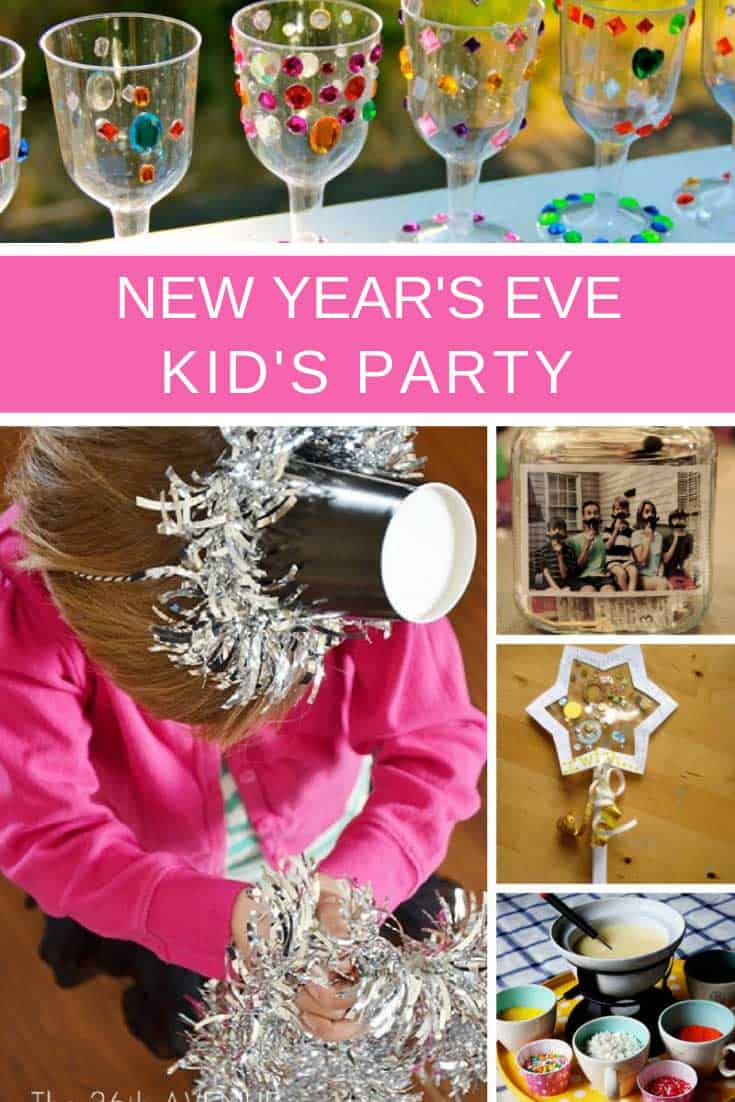 So many great ideas for a kid friendly New Years Eve party!