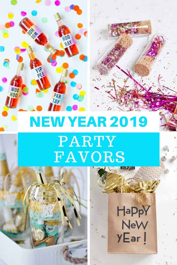 Ooh so many New year's Eve party favors to welcome in 2019!