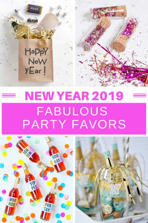 Loving these New Years Eve party favors - perfect for welcoming in 2019 with a bit of style!