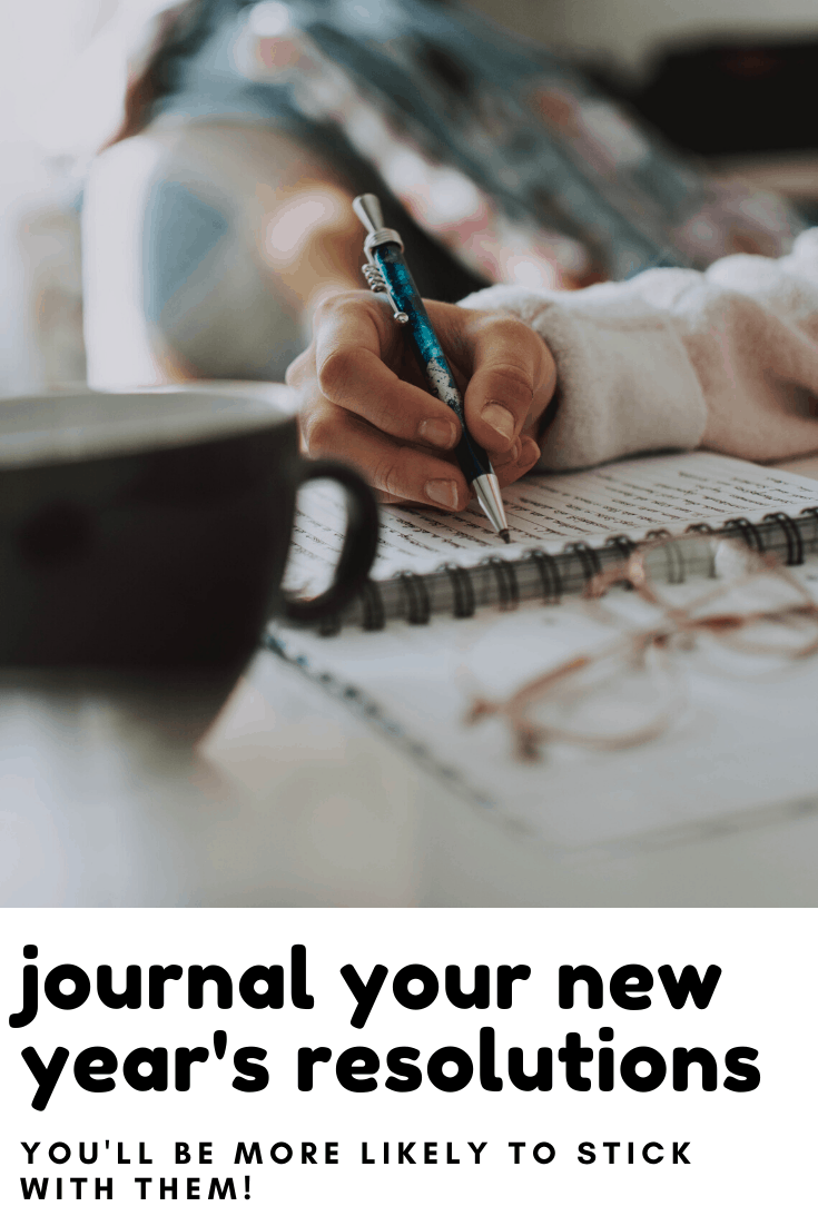 New Year's Resolutions aren't silly - find out how you can use your journal to come up with them and then track your progress so you can be successful