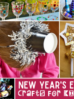 New Years eve crafts for kids to do at home