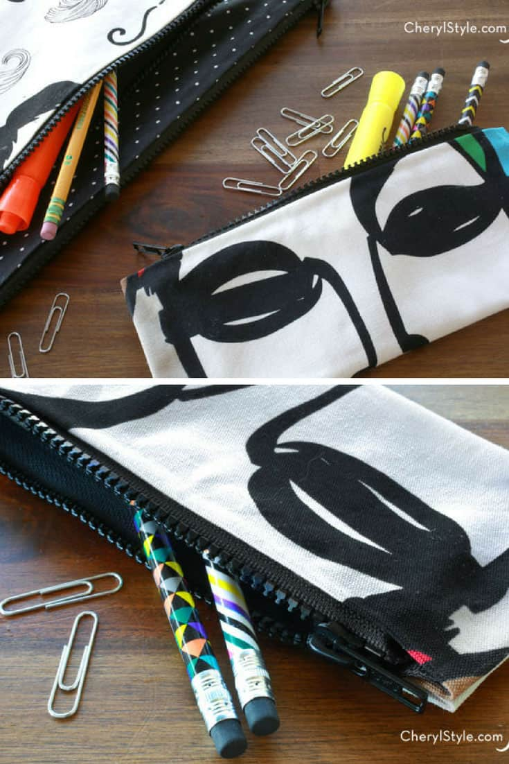 No Sew DIY Pencil Case