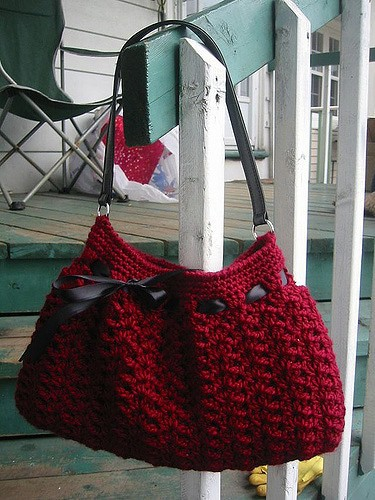 Nordstrom crochet bag