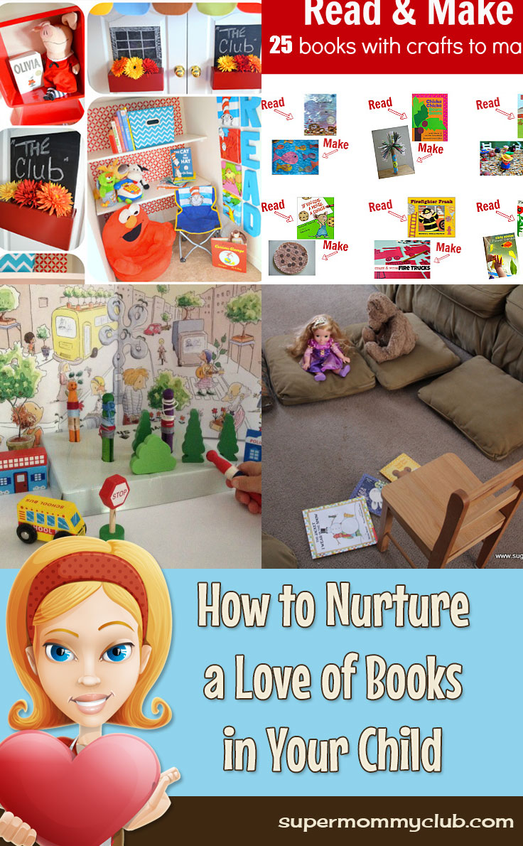 How to Nurture a Love of Books in Your Child