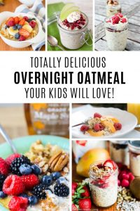 Yum! Oatmeal recipes for kids to make and love to eat!