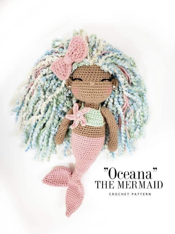 Oceana the Mermaid Crochet Pattern