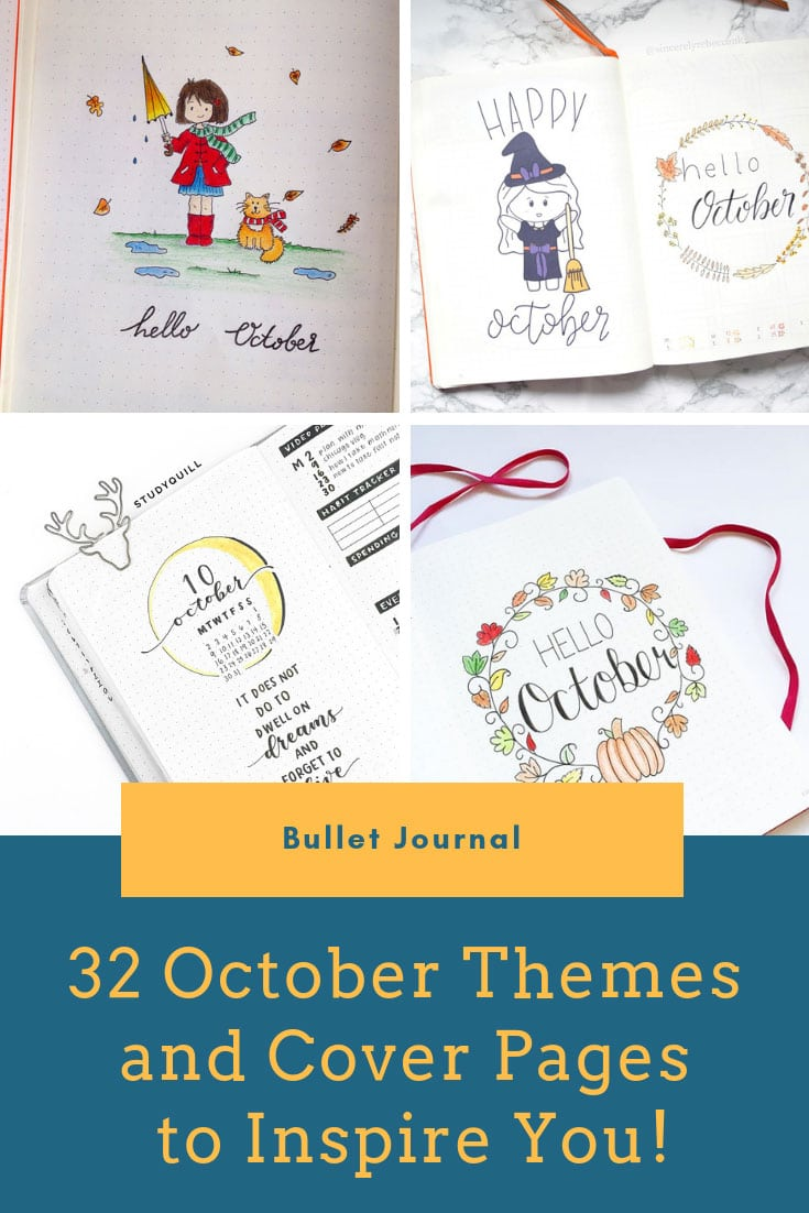 October Bullet Journal Themes Pinterest