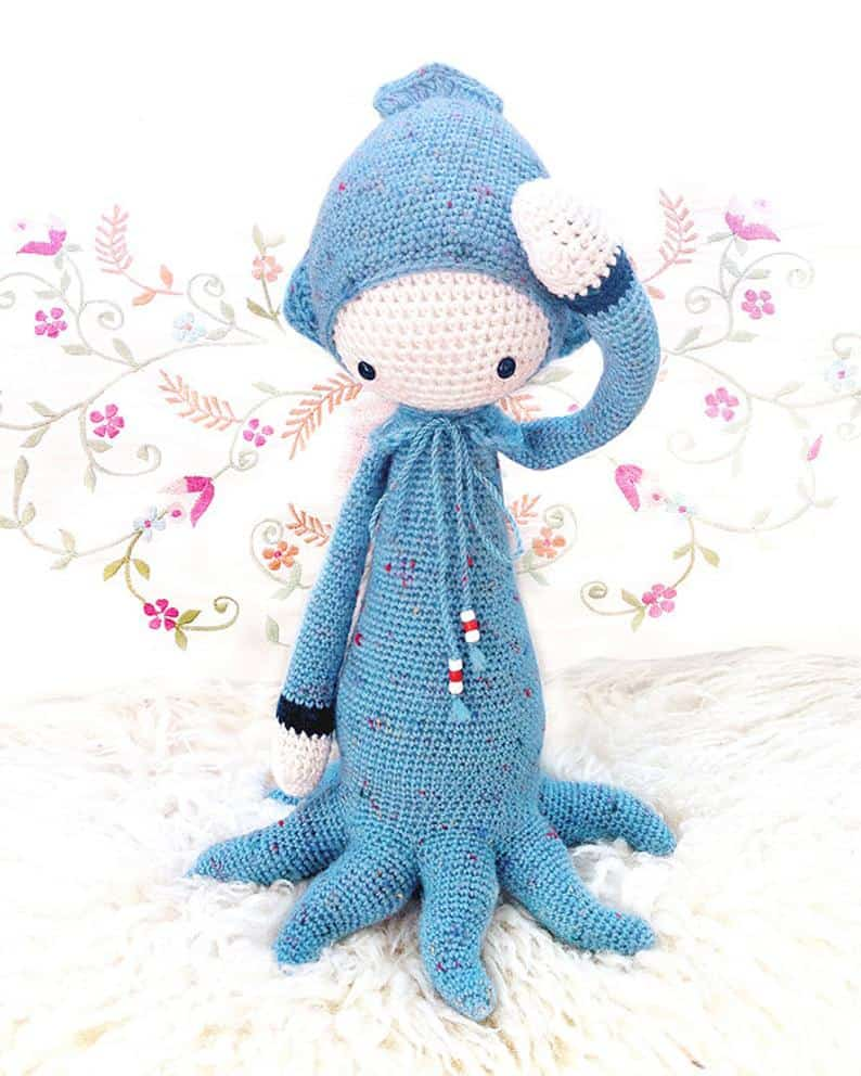 OLEG the Octopus Doll