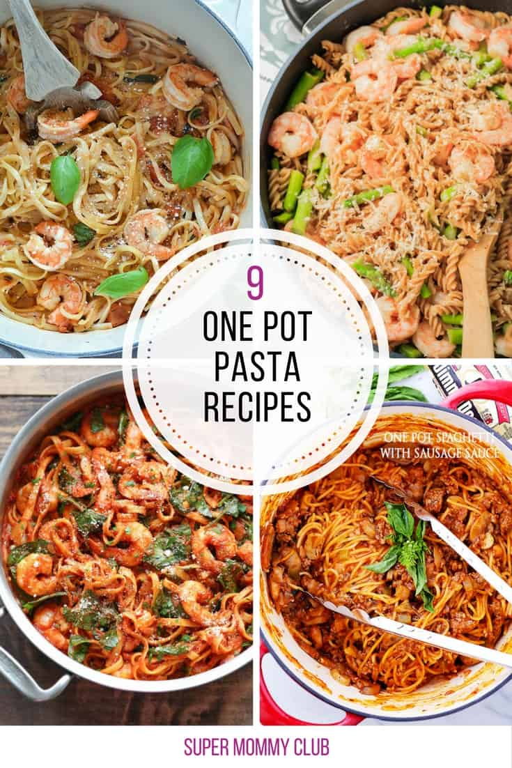 So many yummy one pot pasta recipes here for busy weeknights. Thanks for sharing!