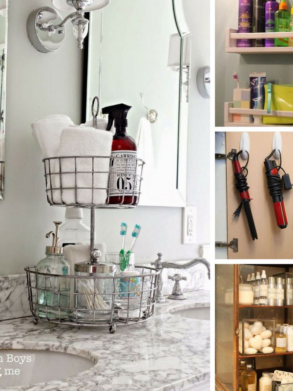 No more mess - find out how to organize your bathroom once and for all!