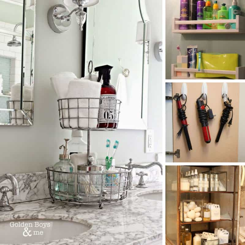 14 Brilliantly Easy Bathroom Organization Hacks that are an Absolute Must Try