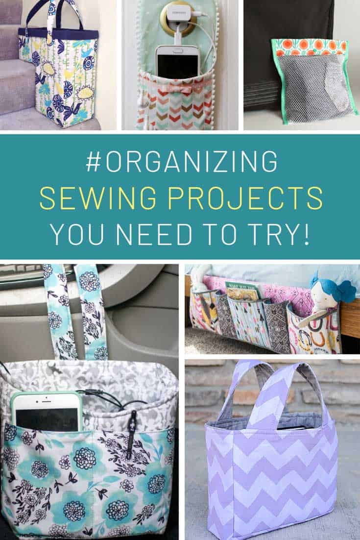 Loving these organizing sewing projects!