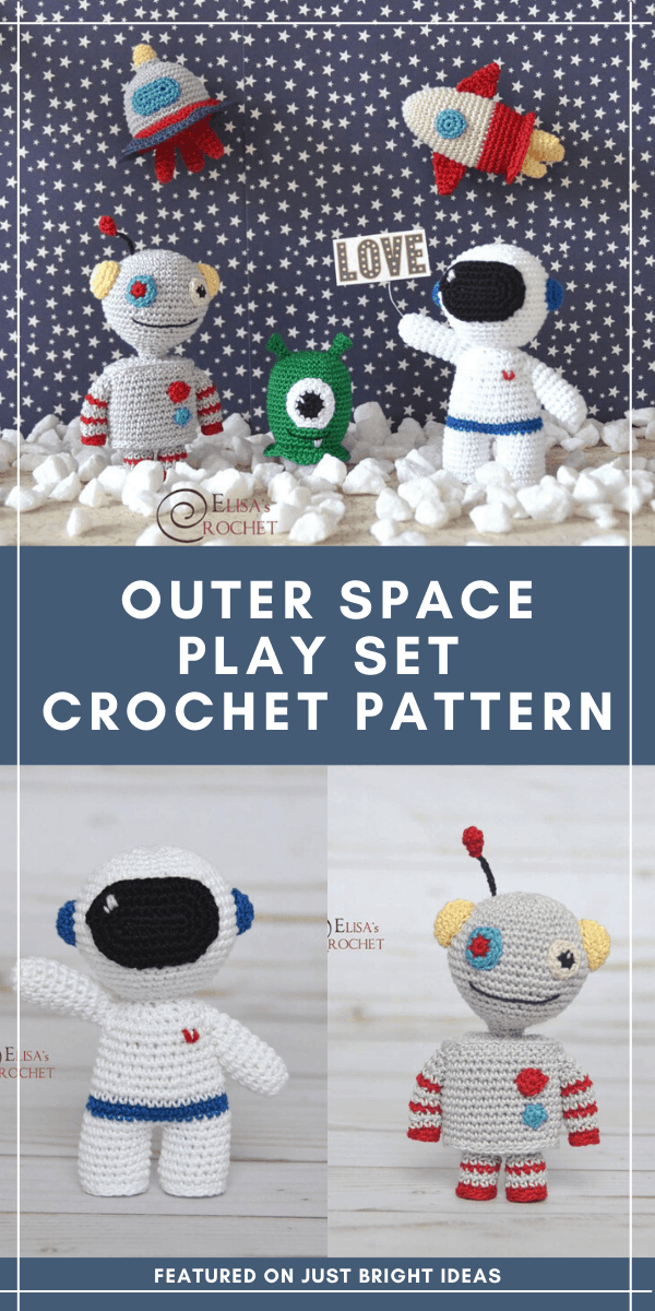 This galactic play set is perfect for your space obsessed kid - it's easy to follow and features an astronaut, rocket, alien and spaceship