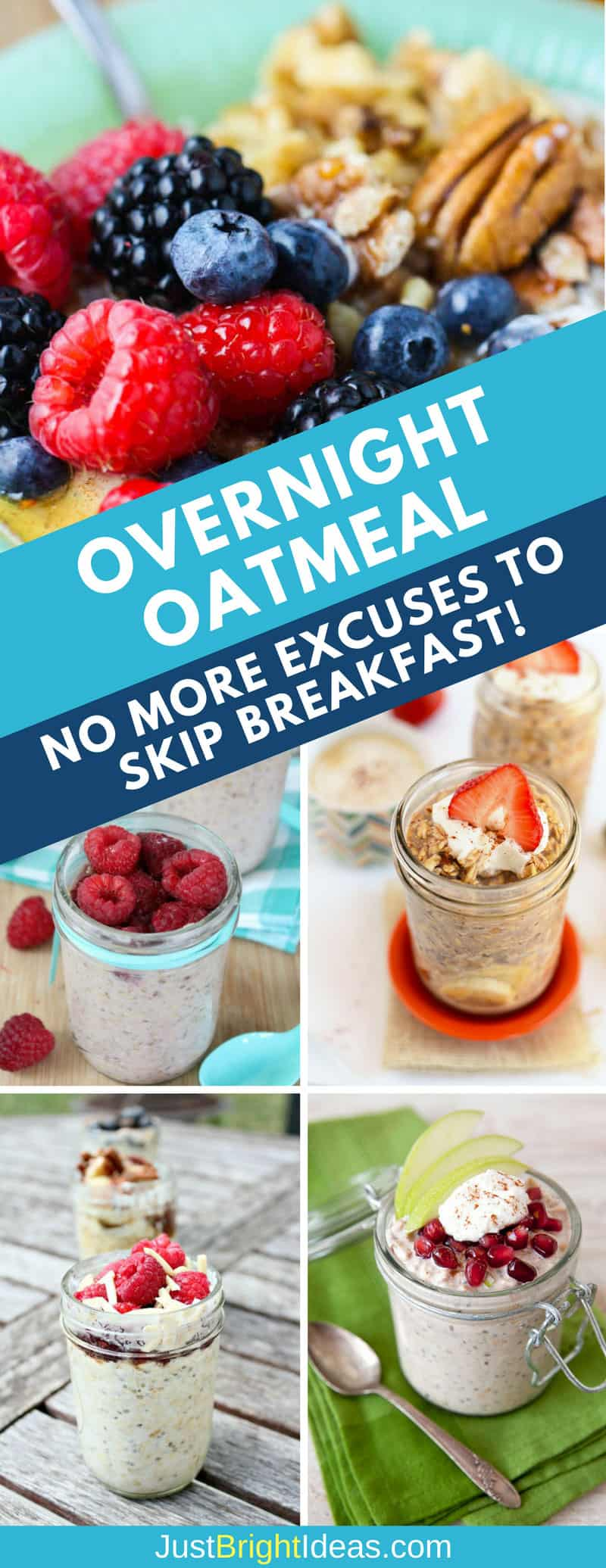 Overnight Oatmeal - Pinterest 3