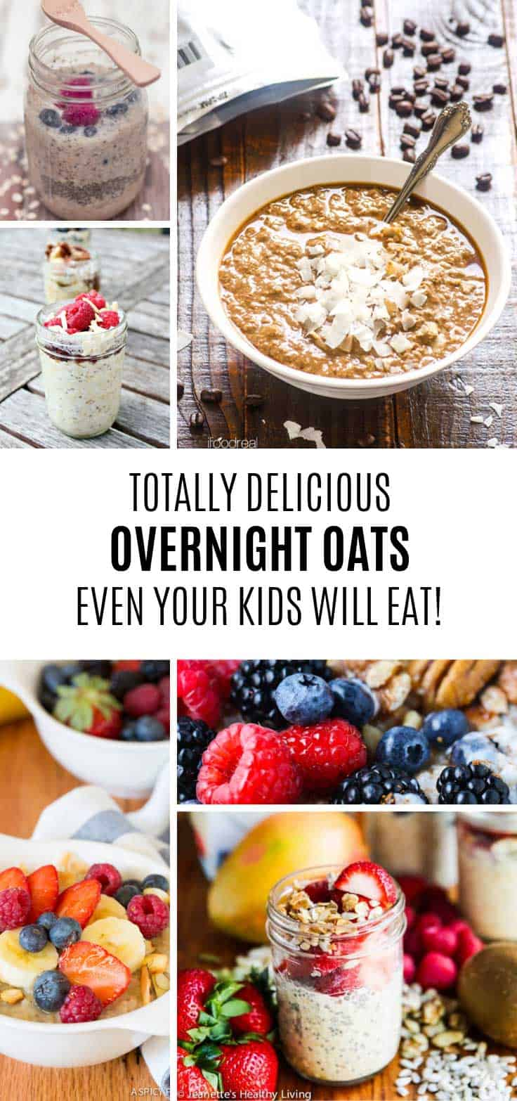 Yum! Overnight oats for kids!