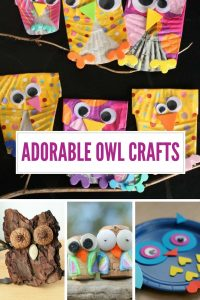 Oh you have to CHECK OUT these owl crafts for kids! Totally super ADORABLE and really easy to make too!