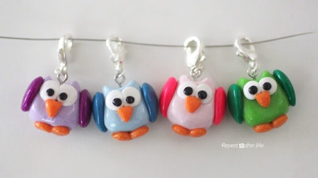 DIY Owl Stitch Markers