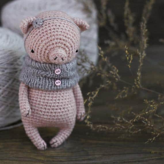 Piggy Crochet Pattern