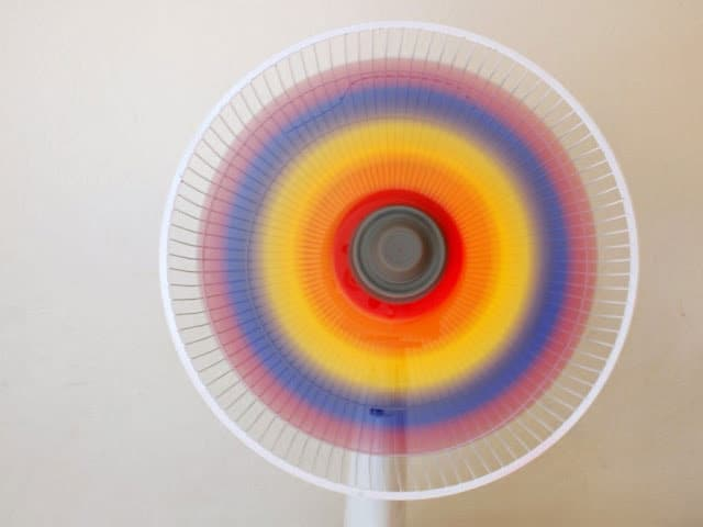 Paint a Rainbow Fan