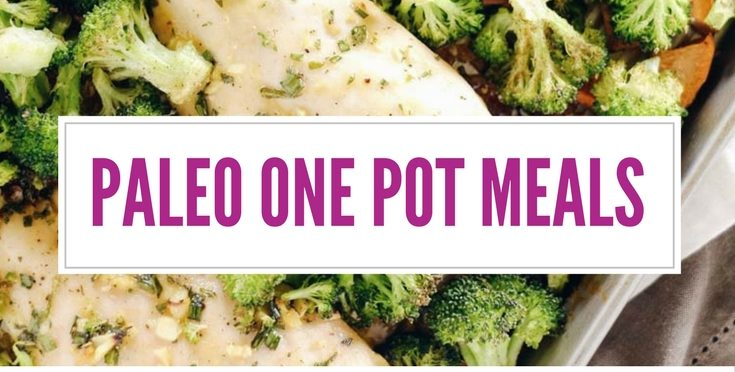 These Paleo one pot meals are DELICIOUS!