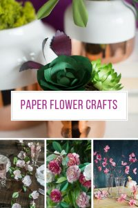 These paper flower craft tutorials are so easy to follow! Thanks for sharing!