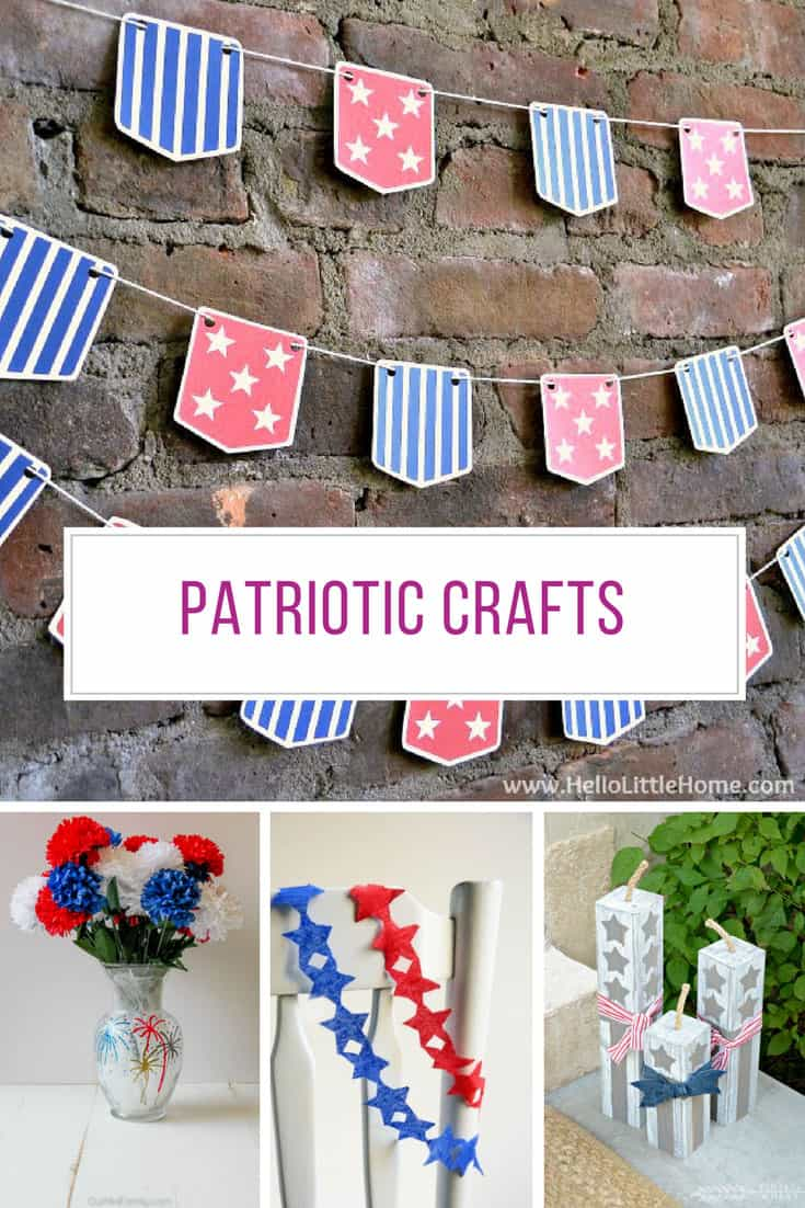 Loving these last minute patriotic crafts! Thanks for sharing!