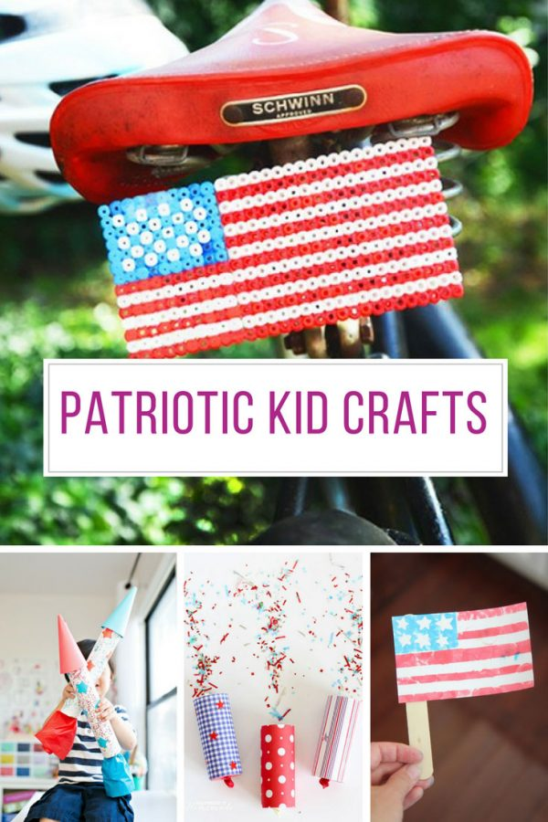Loving these patriotic crafts for kids! Thanks for sharing!