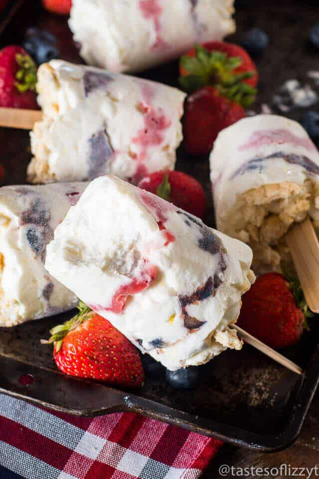 Patriotic Marshmallow Creamsicle Recipe