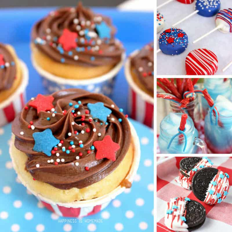 Loving these patriotic recipes - let's celebrate the red white and blue!