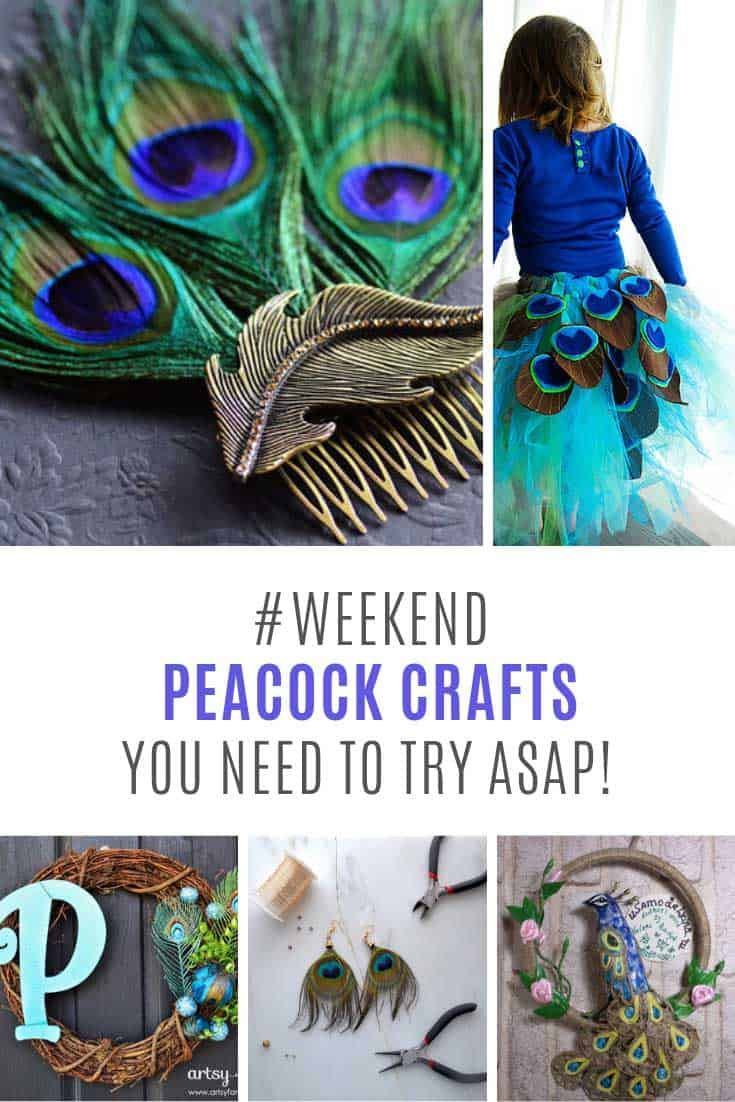 Totally making these peacock craft ideas this weekend - especially that fascinator!