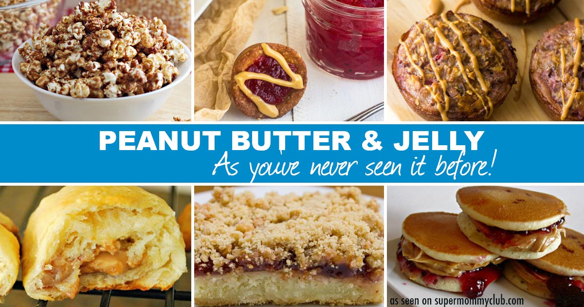 Peanut Butter and Jelly as you've never seen it before!