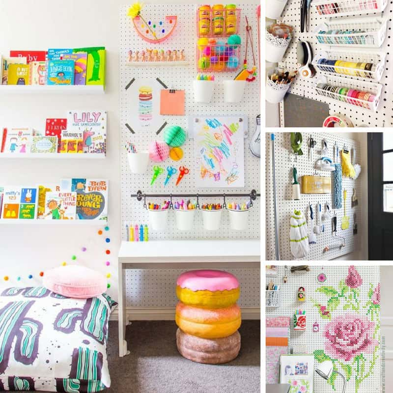 Loving these pegboard ideas - it's time to get organized! Thanks for  sharing!