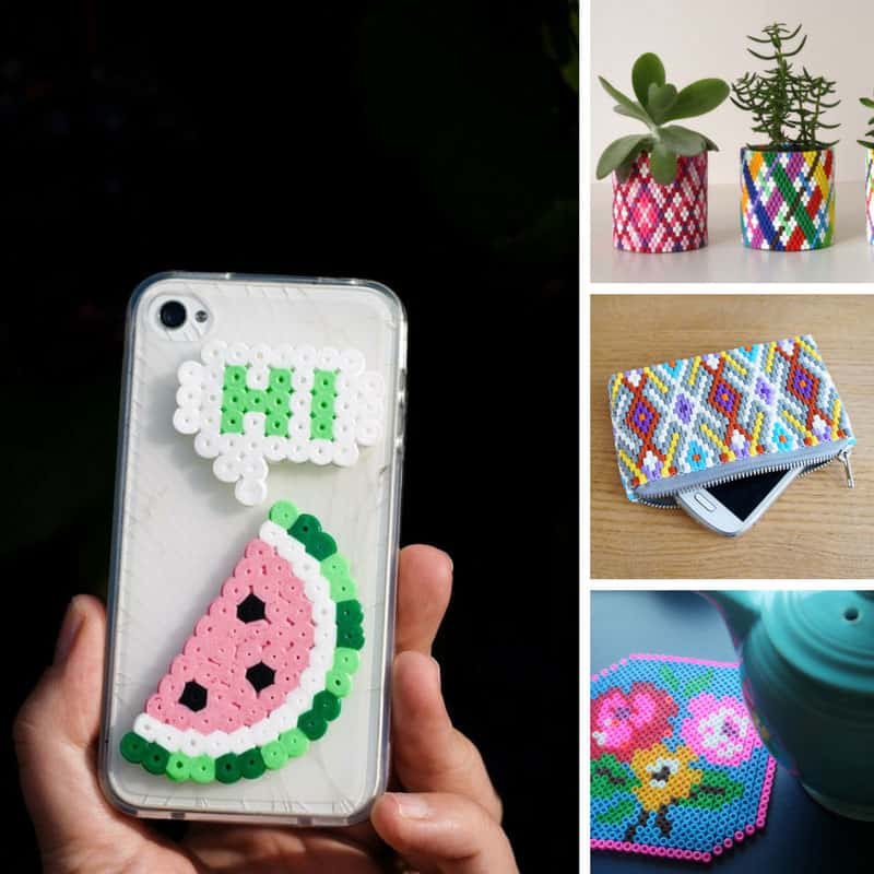 These Perler bead DIY projects are fabulous!