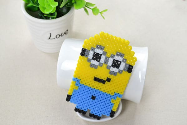 Perler Bead Minion Design