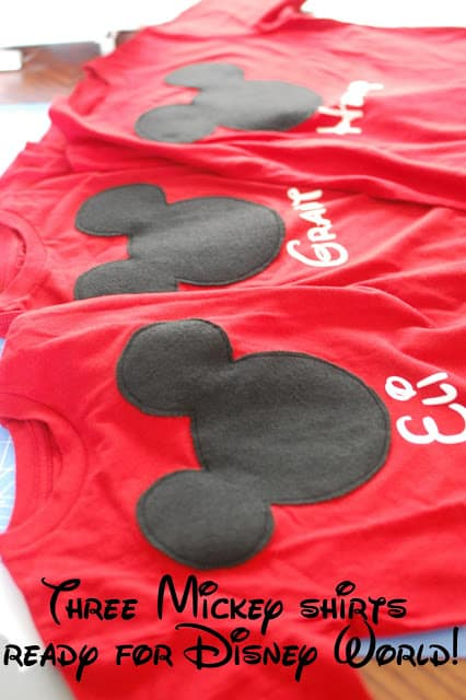 Personalized Mickey T-Shirts