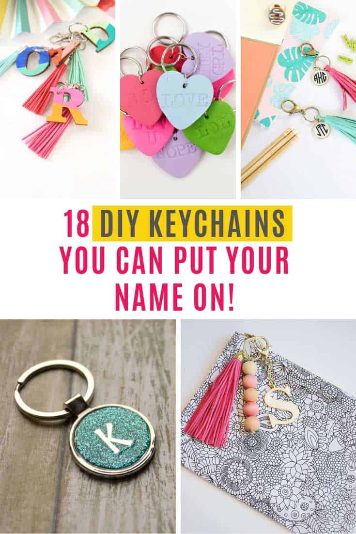 These personalized DIY keychain crafts make thoughtful gifts for all occasions. Everything from leather craft to beads and shrink film projects!