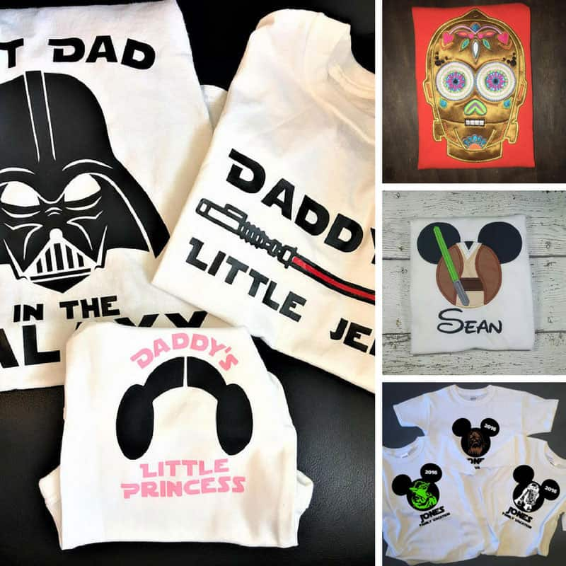 Personalized Disney Family Shirts Star Wars - FB SquarePersonalized Disney Family Shirts Star Wars