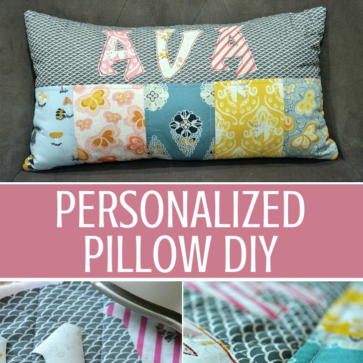 Personalised Pillow DIY