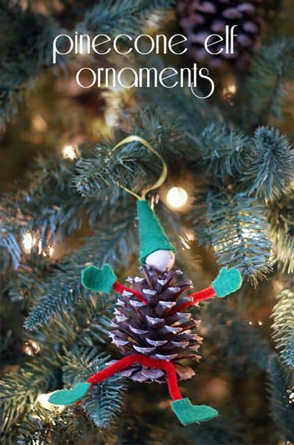 Pinecone Elf Ornament