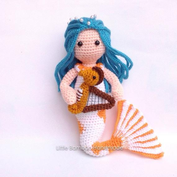 Pisces Mermaid Crochet Pattern