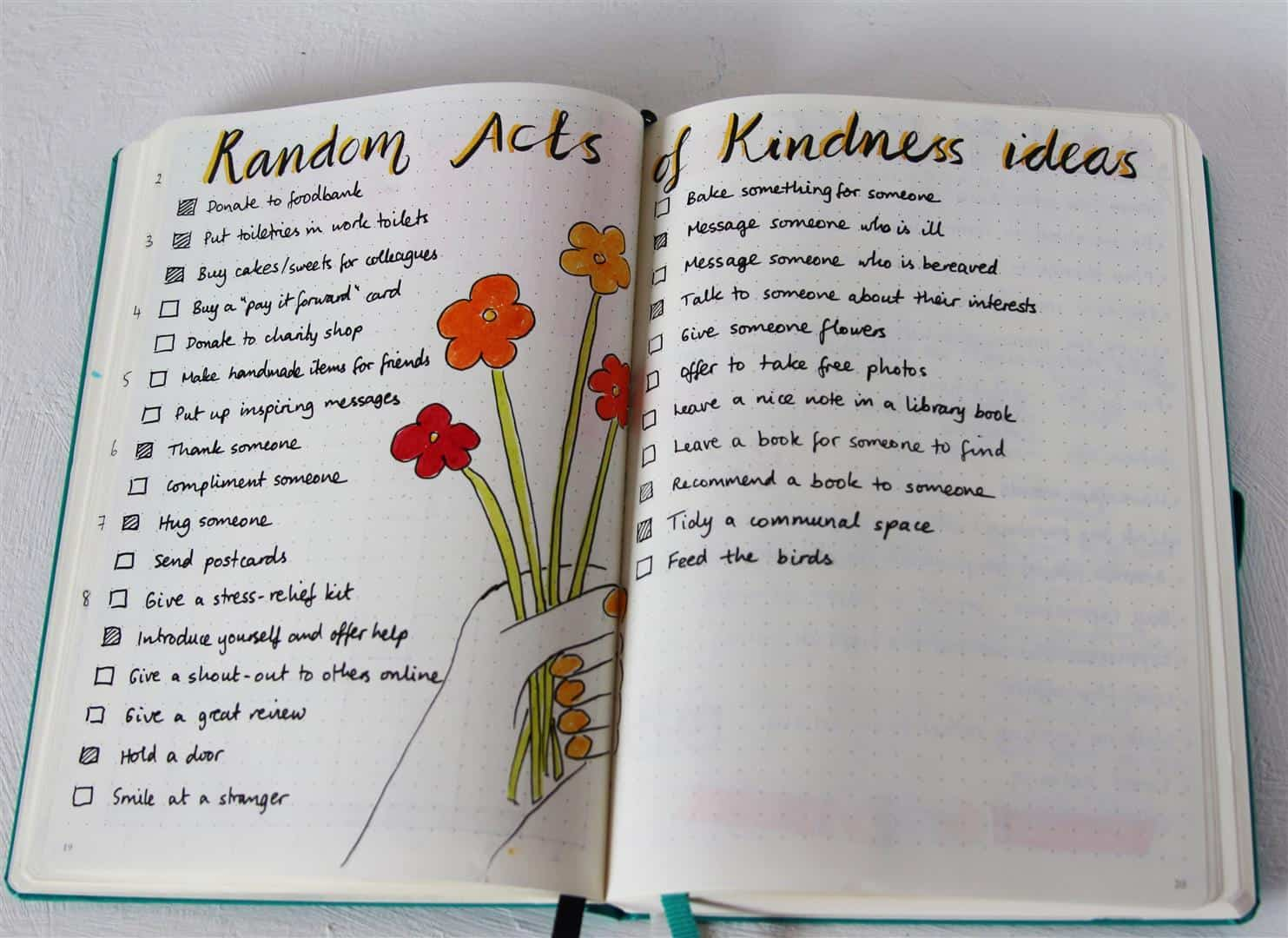 Plan some Random Acts of Kindness