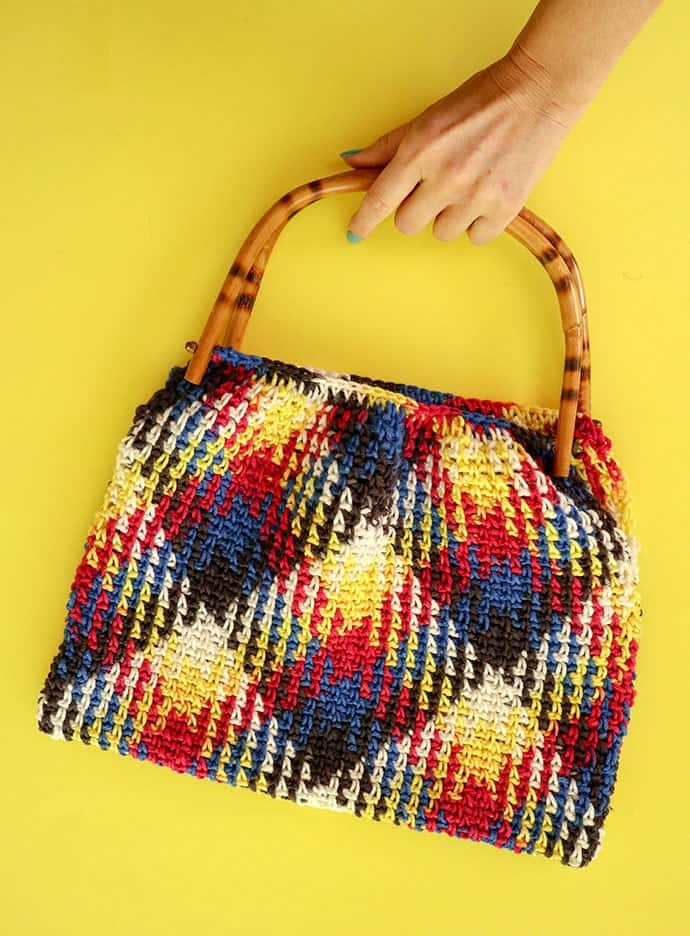 Planned Pooling Crochet Bag
