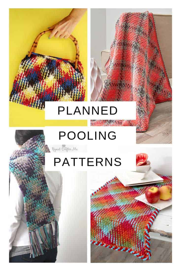 These planned pooling crochet patterns are super fun!