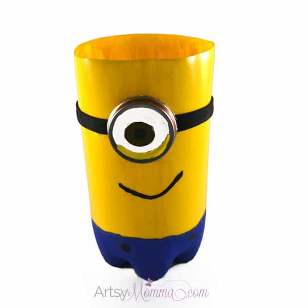 Plastic Bottle Minion Craft
