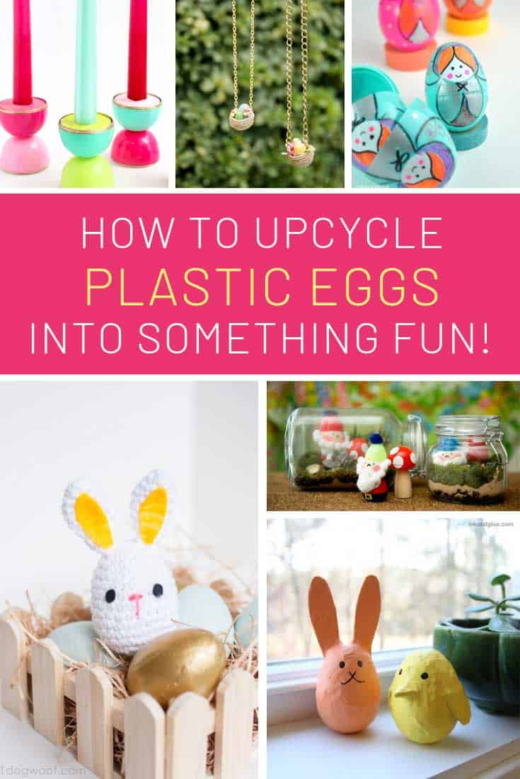 So many fun ways to reuse plastic easter eggs!