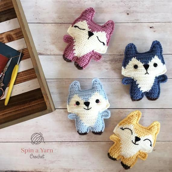 Pocket Fox Crochet Pattern