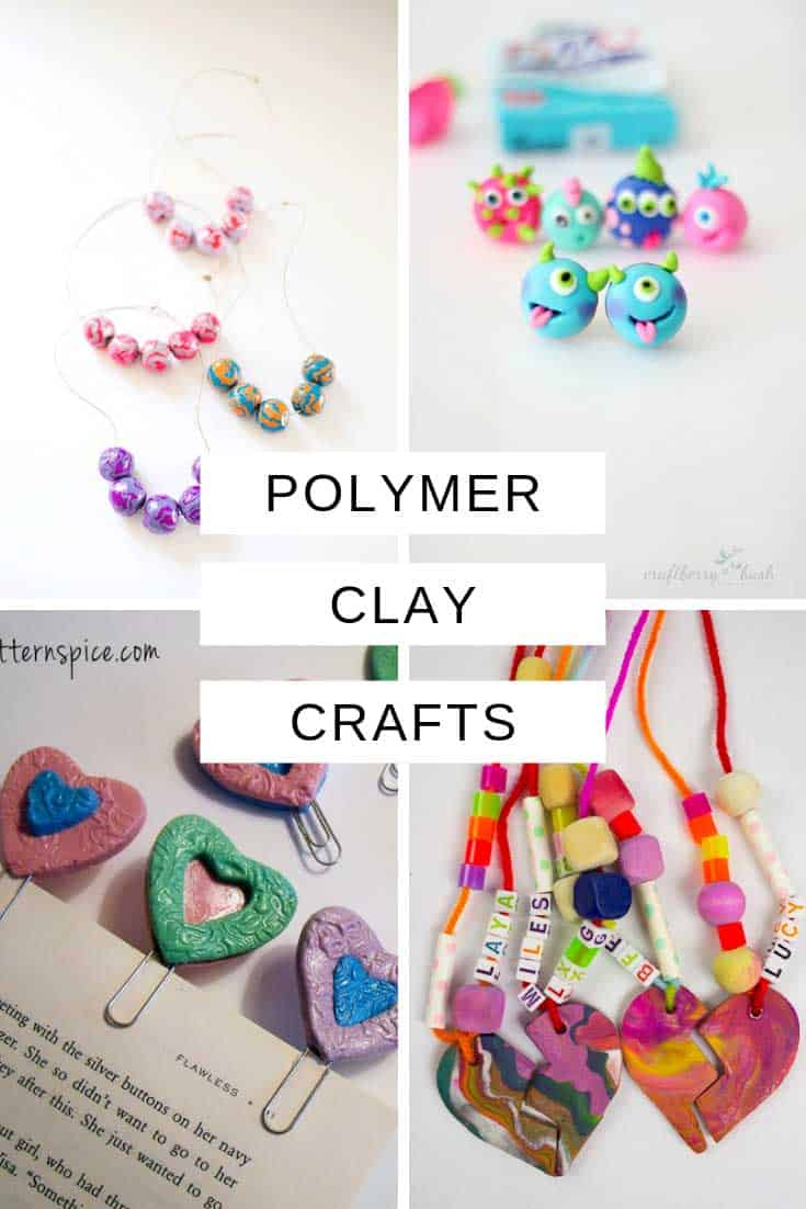 From monster and owl charms to bookmarks and jewellery there is something for kids of all ages to make in this collection of the best polymer clay crafts for kids!