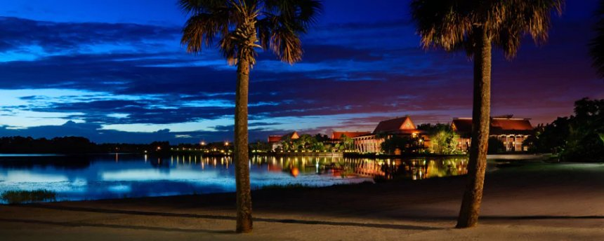 Experience the Polynesian Resort by night